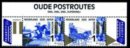 """NETHERLANDS/Nederland EUROPA 2020 """"Ancient Postal Routes"""" Set Of 2v** - 2020"""