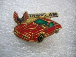 Pin's Voiture Américaine, Trans AM - Ferrari