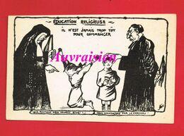 Religion  Anticlérical éditeur A La Calotte Herblay Education Religieuse - Altri