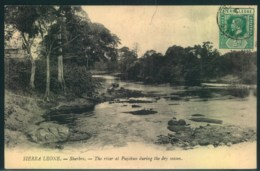 "1920, Picture Card ""Shergro - The River Pujchun"" - Sierra Leone (...-1960)"