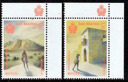 "SAN MARINO EUROPA 2020 ""Ancient Postal Routes"" Set Of 2v** - 2020"