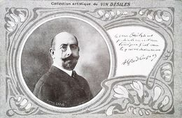 CPA    Alfred Capus  Publicité Du Vin Desiles - People