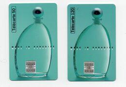 """2 Télécartes De 50 Et 120 Unités """"eau D'eden"""" - Parfum"""