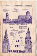Bulletin Paroissial, 1974, Saint AUBIN Du CORMIER, MECE, Saint GEORGES De CHESNE, (35), 14 Pages, N° 8 - Bretagne