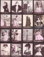 LOT Photographies Publicitaires Artistes Et Courtisanes De La Belle époque : Sarah Bernhardt , Otero , Cléo De Mérode - Ancianas (antes De 1900)