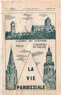 Bulletin Paroissial, 1974, Saint AUBIN Du CORMIER, MECE, Saint GEORGES De CHESNE, (35), 14 Pages, N° 7 - Bretagne
