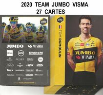 CARTES CYCLISME TEAM JUMBO - VISMA 2020 ( 27 CARTES ) - Cyclisme