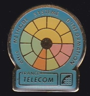 66050- Pin's - France-telecom.Orange.Telephone. - France Telecom
