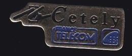 66053- Pin's - France-telecom.Orange.Telephone.Cetely. - France Telecom