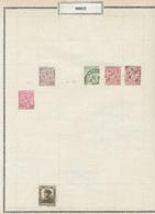 MONACO - Petit Lot - Essentiellement Neuf - 19 Pages Avec Chanières - Voir 26 Scannes - Verzamelingen & Reeksen