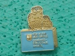 OWL HIBOU, BIRD, OISEAU- Stir4 - HINWIB BIBLIOTHEK - Animaux