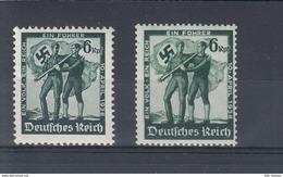 Deutsches Reich Michel Kat. Nr. Postfr/** 662/663 - Ungebraucht