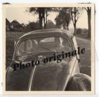 Photo Originale - Autos Voitures Automobiles Cars - Volkswagen VW Coccinelle Ovale Käfer Ovali Beetle - Homme Heureux - Automobili