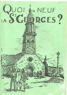 Quoi De Neuf à SAINT GEORGES DE CHESNE, (35) Bulletin Paroissial, De 1985, 12 Pages, - Bretagne