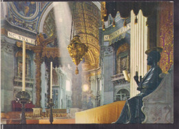 C. Postale - Roma - Basilica Di S. Pietro - Interno - Circa 1970 - Non Circulee - A1RR2 - San Pietro