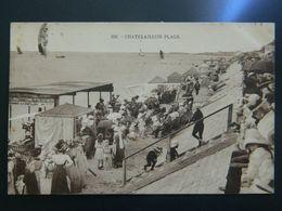 CHATELAILLON PLAGE                        CABINES DES BAINS RICHELIEU - Châtelaillon-Plage