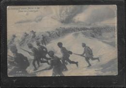 AK 0529  Ein Sturmangriff Unserer Marine In Den Dünen Von Lombartzyde - Feldpost Um 1915 - Manoeuvres