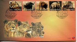 South Africa Südafrika Offizieller/official FDC # 7.117  - Fauna Big 5 - FDC