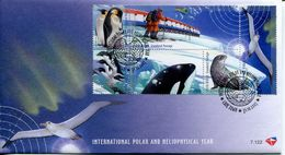 South Africa Südafrika Offizieller/official FDC # 7.122  - Polar Year Arctic - FDC