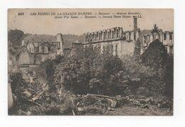 Cpa 54 BACCARAT Les Ruines (peu Courante) - Baccarat
