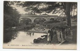 29 - PONT AVEN - Bords De L'Aven Et Viaduc - Pont Aven