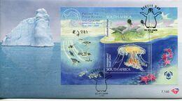 South Africa Südafrika Offizieller/official FDC # 7.146  - Fauna Polar Protection - FDC