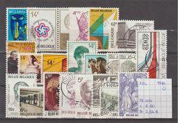 België 1976 - 19 Sets Gest./obl./used - Usati