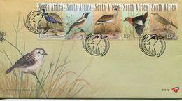 South Africa Südafrika Offizieller/official FDC # 7.172  - Fauna Birds - FDC