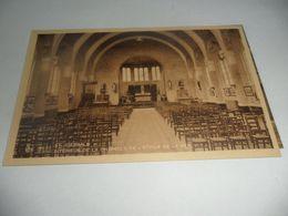 Koksijde;st-idesbald Intérieur De La Chapelle De L'étoile De La Mer - Koksijde