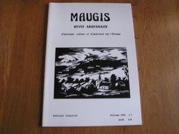 MAUGIS N° 1 Revue D' Ardenne Régionalisme Ardennes Vresse Sur Semois Mythes Légendes Croyances - Belgium