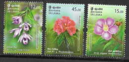 SRI LANKA, 2019, MNH, FLORA, FLOWERS, ORCHIDS,RHODODENDRON, 3v - Orchideen