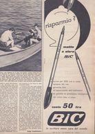 (pagine-pages)PUBBLICITA' BIC   Oggi1956/22. - Other