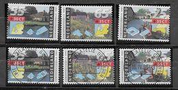 Nederland - 1991 - Y&T 1373/1375 - **  En O  - Zomerzegels - Periodo 1980 - ... (Beatrix)