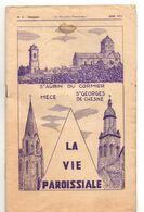 Bulletin Paroissial, 1972, Saint AUBIN Du CORMIER, MECE, Saint GEORGES De CHESNE, (35), 14 Pages, N° 6 - Bretagne