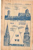 Bulletin Paroissial, 1972, Saint AUBIN Du CORMIER, MECE, Saint GEORGES De CHESNE, (35), 14 Pages, N° 8, Médiocre - Bretagne