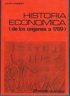 BUEN LIBRO DE HISTORIA ECONOMICA DESDE SUS ORÍGENES (COMO NUEVO) MUY BUENO - Économie & Business