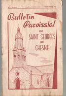 Bulletin Paroissial, 1967,Saint GEORGES De CHESNE, (35), 14 Pages, N° 8, Etat Médiocre - Bretagne