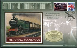 "2006 GB ""The Flying Scotsman"" Railway, Steam Train Cover. - Gran Bretagna"