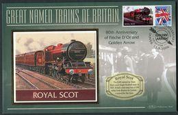 "2006 GB ""Royal Scot"" Railway, Steam Train Cover. - Gran Bretagna"