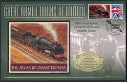 "2006 GB ""The Atlantic Coast Express"" Railway, Steam Train Cover. - Gran Bretagna"