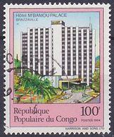 Timbre Oblitéré N° 746(Yvert) Congo 1984 - Hôtel M'Bamou Palace - Used