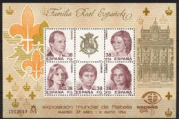 Spain. 1984 - Exposicion Mundial Filatelia Ed 2754 (**) - 1981-90 Ongebruikt
