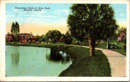 Florida Oorlando Picturesque Scene In Eola Park - Orlando