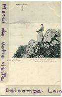 - Une Mer De Nuages - Sur Le Pic Du Midi De Bigorre, Homme Assis, Carte Rare, Non écrite, TTBE, Scans. - Vic Sur Bigorre
