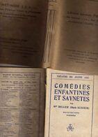 Théâtre Du Jeune Age Comédies Enfantines & Saynètes Mme Bellier (Marie Klecker) Illustrations D'Andréas Albin Michel Edi - Theater