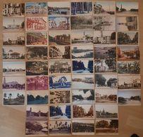 Lot Of 50 (!) Old SINGAPORE Postcard 's  Various Buildings / Street / Panorama / Parks Cpa SINGAPOUR Singapur Malaysia - Singapore
