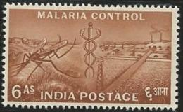 INDIA - MALARIA; MEDICINE - 1950-59 Republic