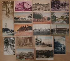 Lot Of 17 (!) Old SINGAPORE Postcard 's  Various Buildings / Street / Panorama / Park Cpa SINGAPOUR Singapur Malaysia 2 - Singapore