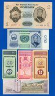 Mongolie  14  Billets - Mongolia