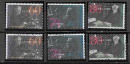 Nederland - 1991 - Y&T  1382/1384 - **  En O - Nederlandse Nobelprijs Winnaars. - Periodo 1980 - ... (Beatrix)